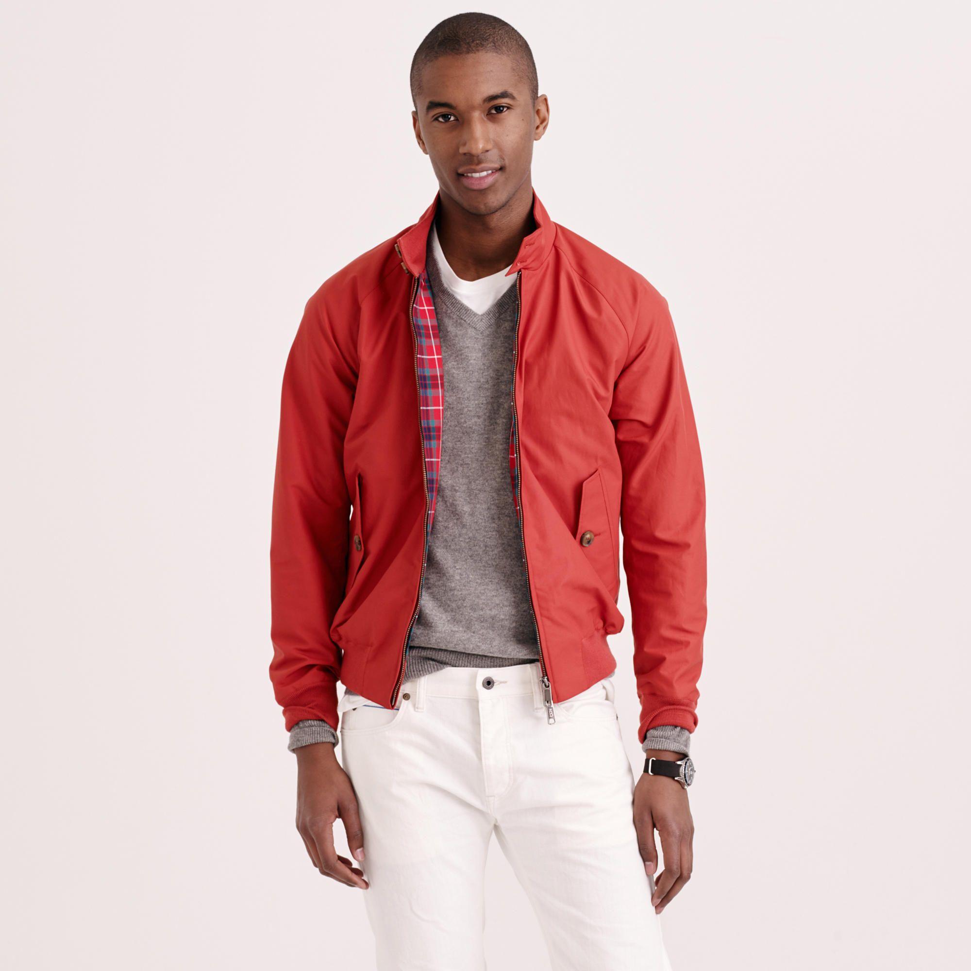 red harrington jacket  5ed8664ddb5