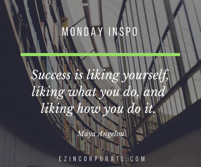 A little #MondayMotivation for you. What are you working on this week?