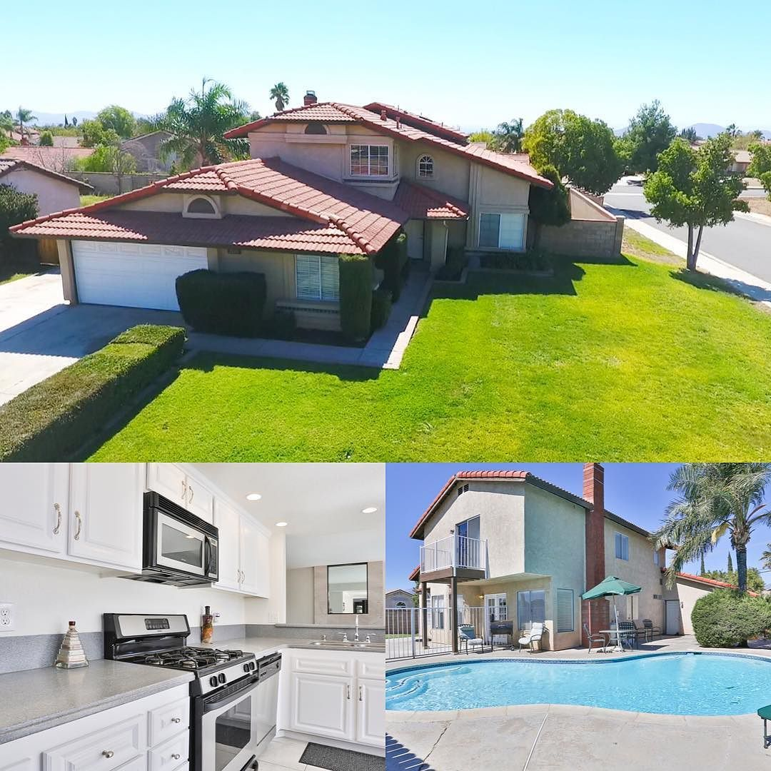 1219 W Bohnert Ave Rialto Ca Rialto Home For Sale 349000 5 Bedrooms 3 Baths 1600 Sq Ft Living Space Balcony With Pool Vi House Styles Home Buying Alta Loma