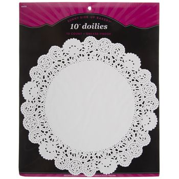 8 16 Pack White Grease Proof Doilies Doilies Winter Wonderland Party Pony Party