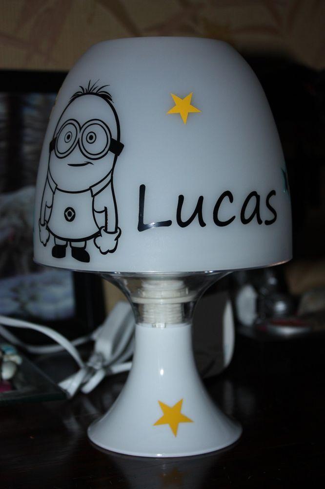 Lampe de chevet Modèle Marie des Aristochats Prénom