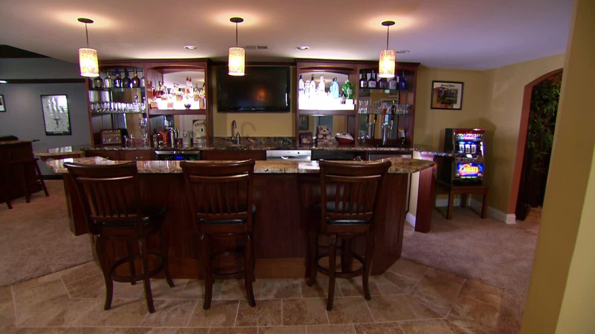 basement sports bar ideas architects home services for the home pinterest basement sports. Black Bedroom Furniture Sets. Home Design Ideas