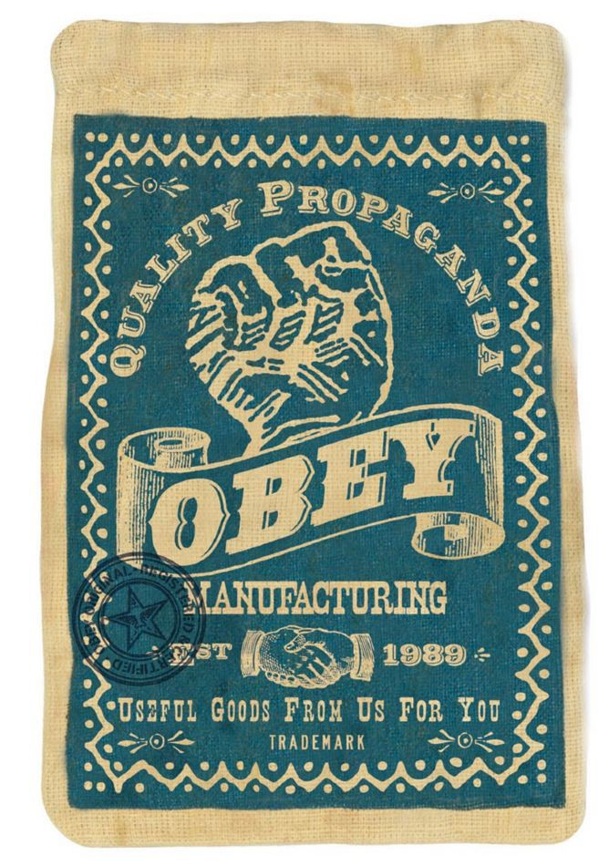 OBEY silkscreen-Rob Howell on Behance
