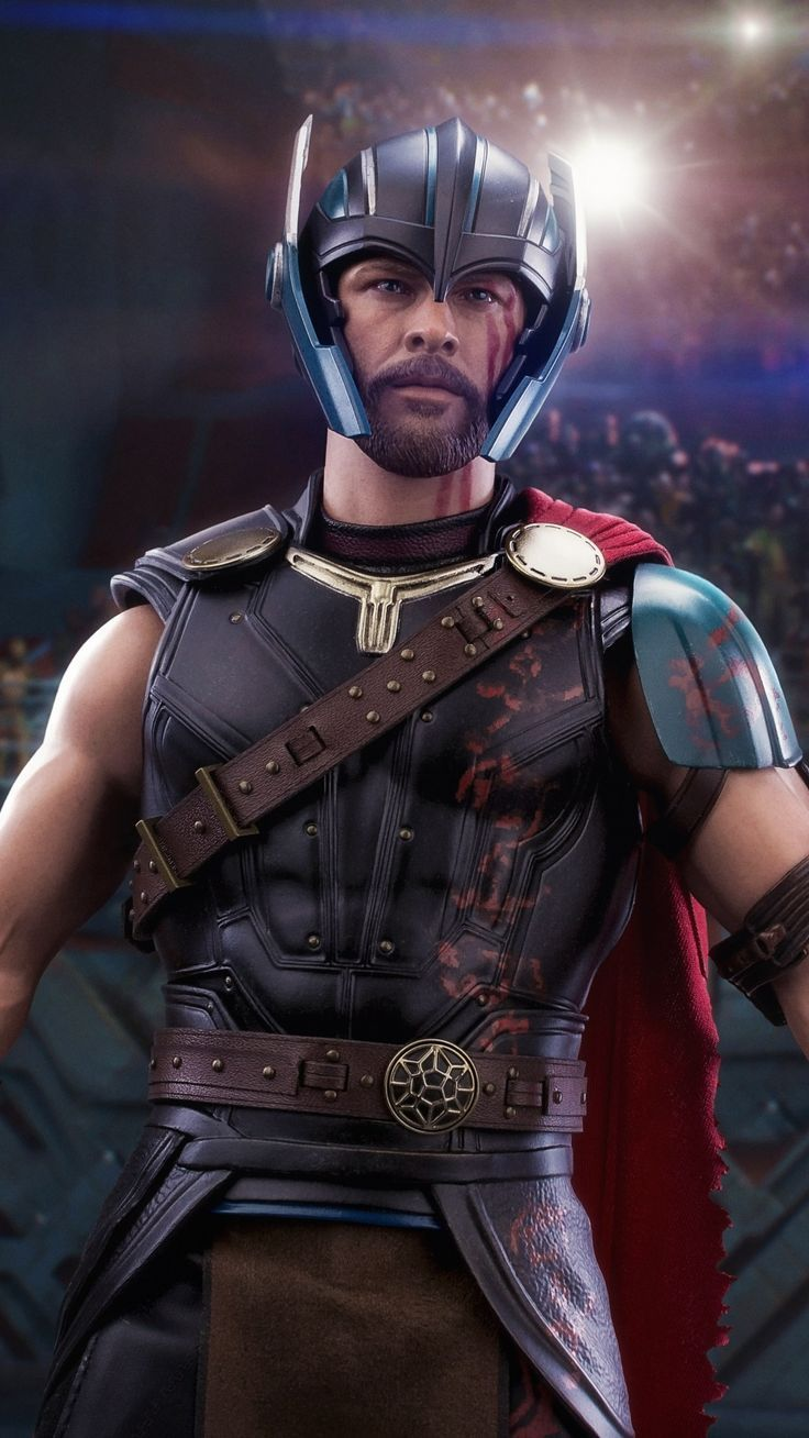 awesome wallpaper Gladiator, Thor Ragnarok, movie, toy