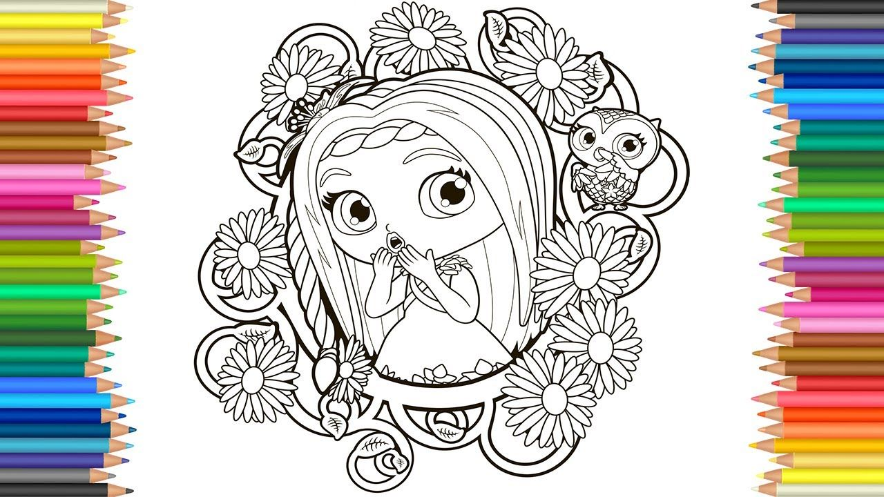 Coloring Pages Little Charmers Posie And Treble Videos For Children Le