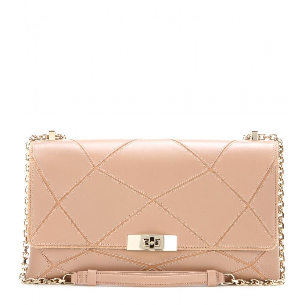 9b46618e1aac Roger Vivier - Prismick Small leather shoulder bag - The textured finish of Roger  Vivier s  Prismick  bag is a modern take on quilted luxury.