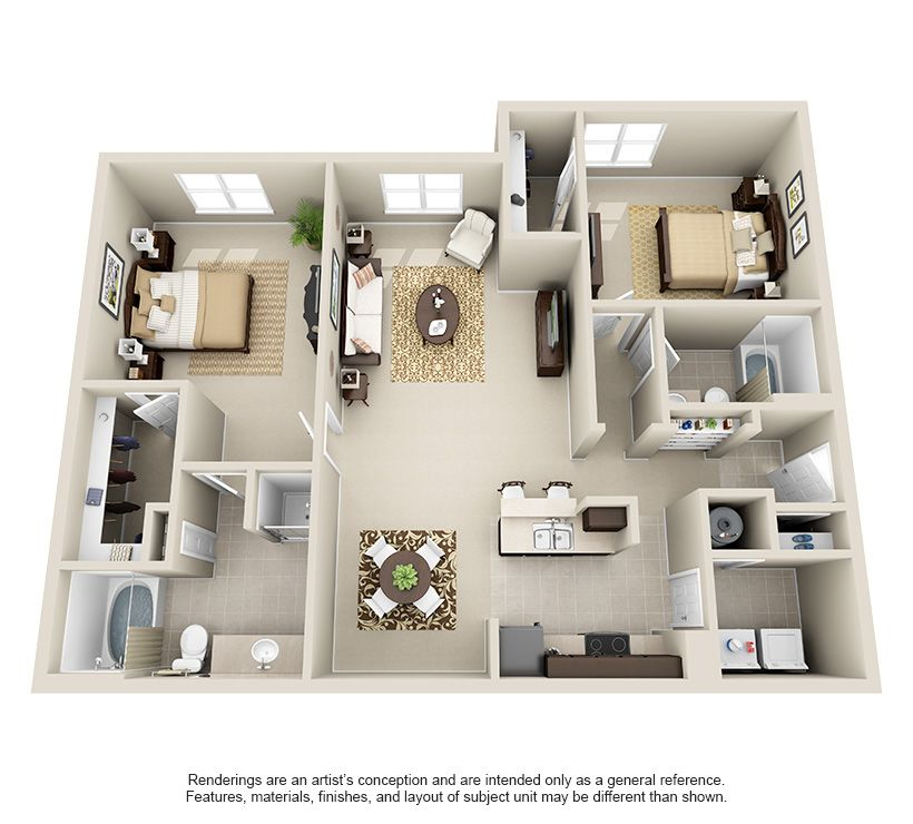 1 2 3 Bedroom Apartments For Rent Apartment Layout Apartments For Rent 3 Bedroom Apartment