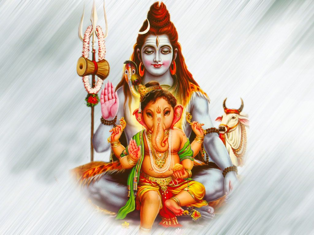 Ganesha Ganesha Senor Shiva Dioses Hindues