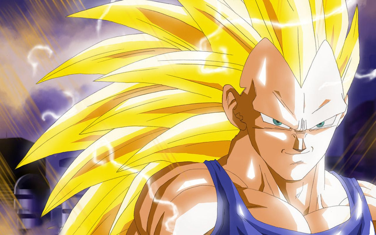 Vegeta Super Saiyan 3 Wallpaper Wallpaper Wallpaperlepi Anime Goku Transformations Art