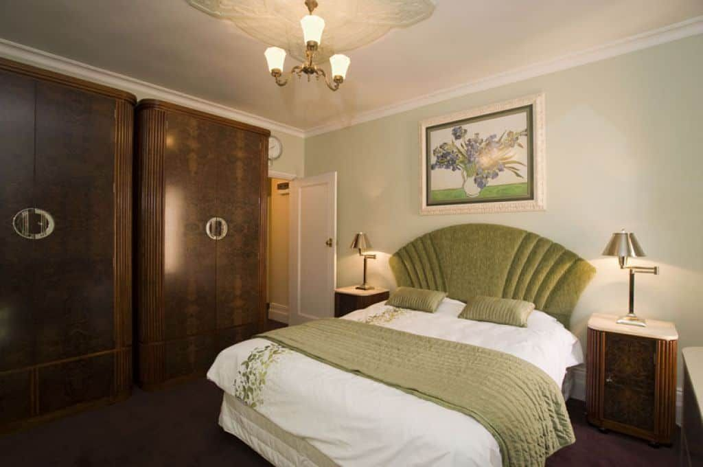 Art Deco Bedroom Style With Double Art Deco Armoires And ...
