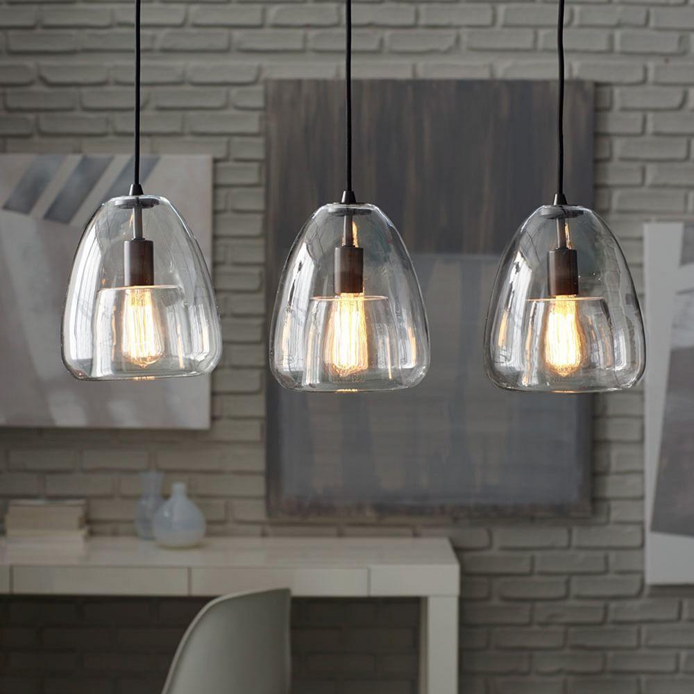 Duo Walled 3 Light Pendant Kitchen Pendant Lighting Kitchen Lighting Fixtures Kitchen Pendants