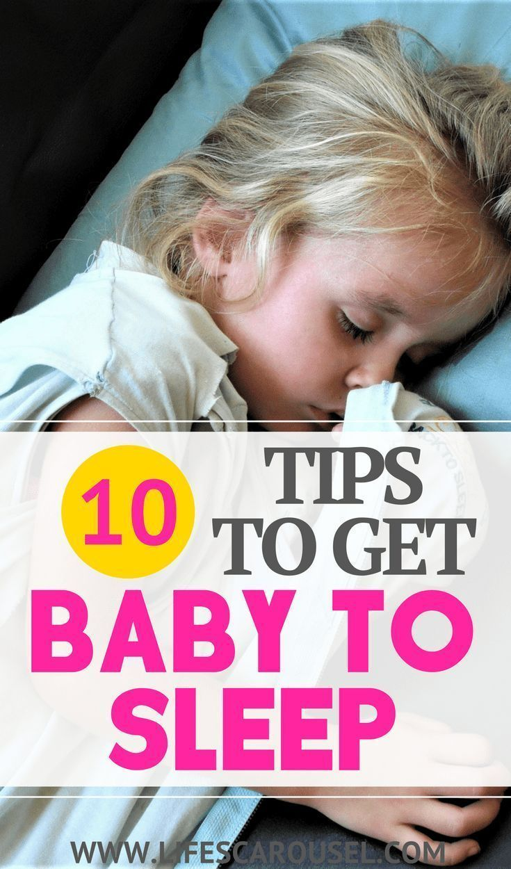 how to get an overtired baby back to sleep