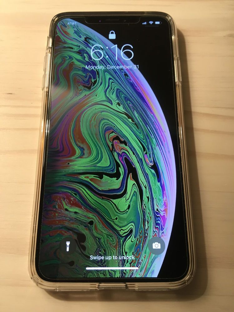 on sale 542f2 8bad7 Apple iPhone XS Max - 256GB - Silver (AT&T) A1921 (CDMA GSM ...