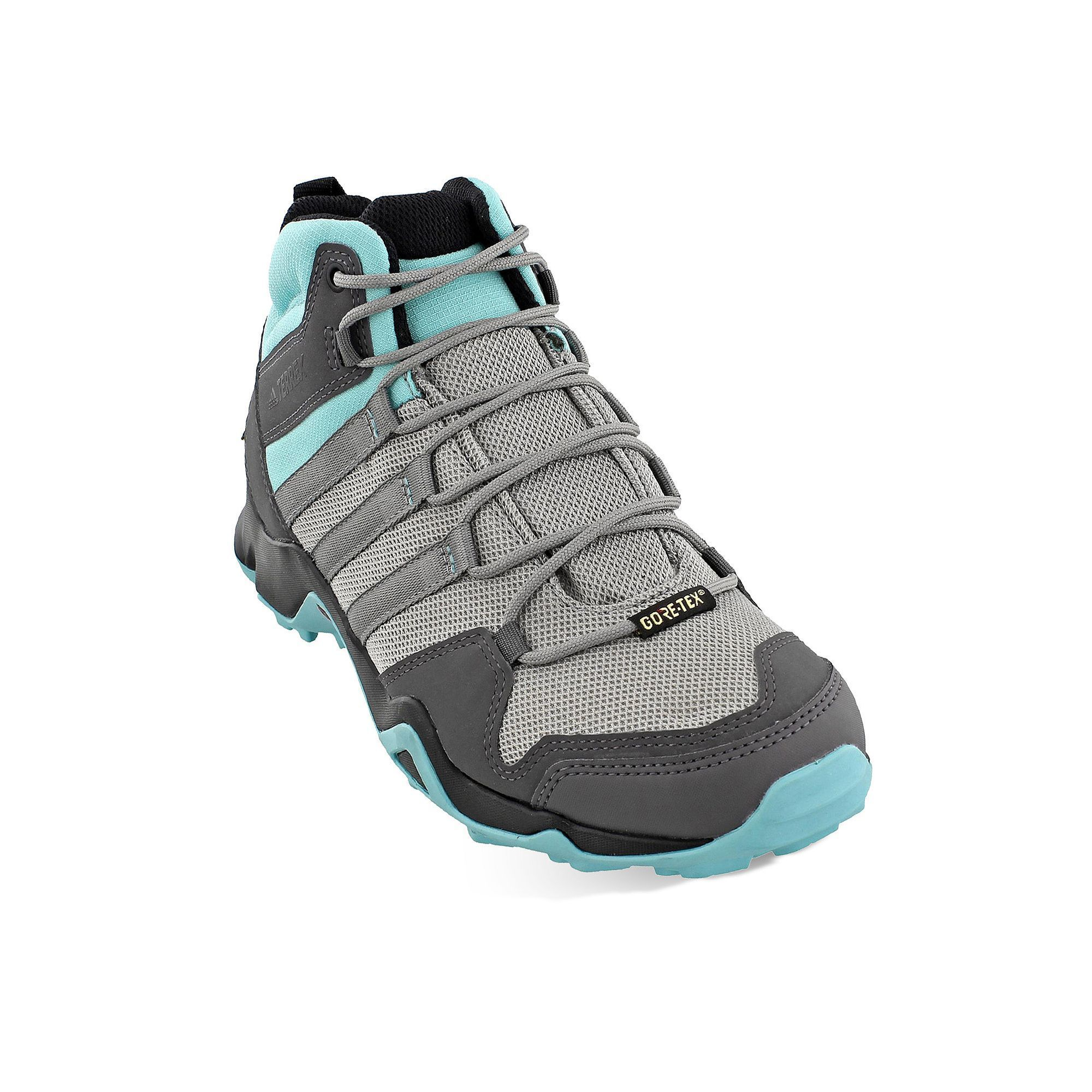 separation shoes 3fd31 749b3 Adidas Outdoor Terrex AX2R Mid Gore-Tex Women s Waterproof Hiking Shoes,  Size  7.5, Grey