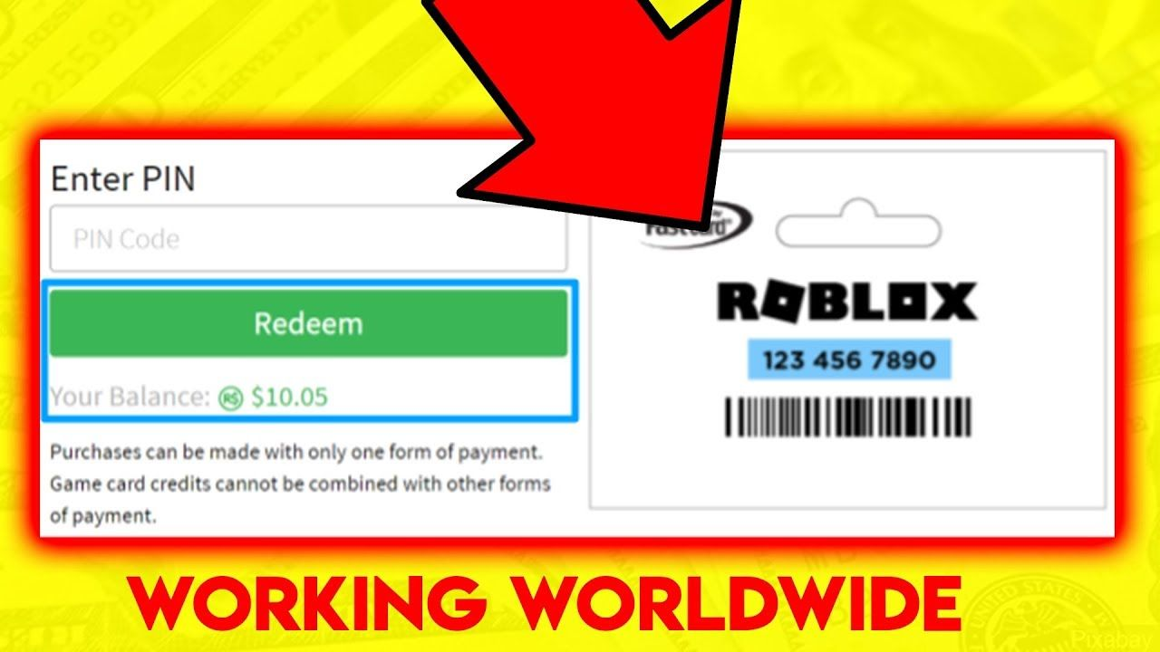 Must watch free roblox gift card codes unused in 2019