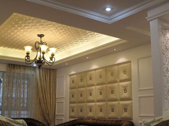 Decorative Tiles For Bedroom Walls Prepossessing Buckle Up  Faux Leather Ceiling Tile  #dct Lrt02  Master Design Decoration