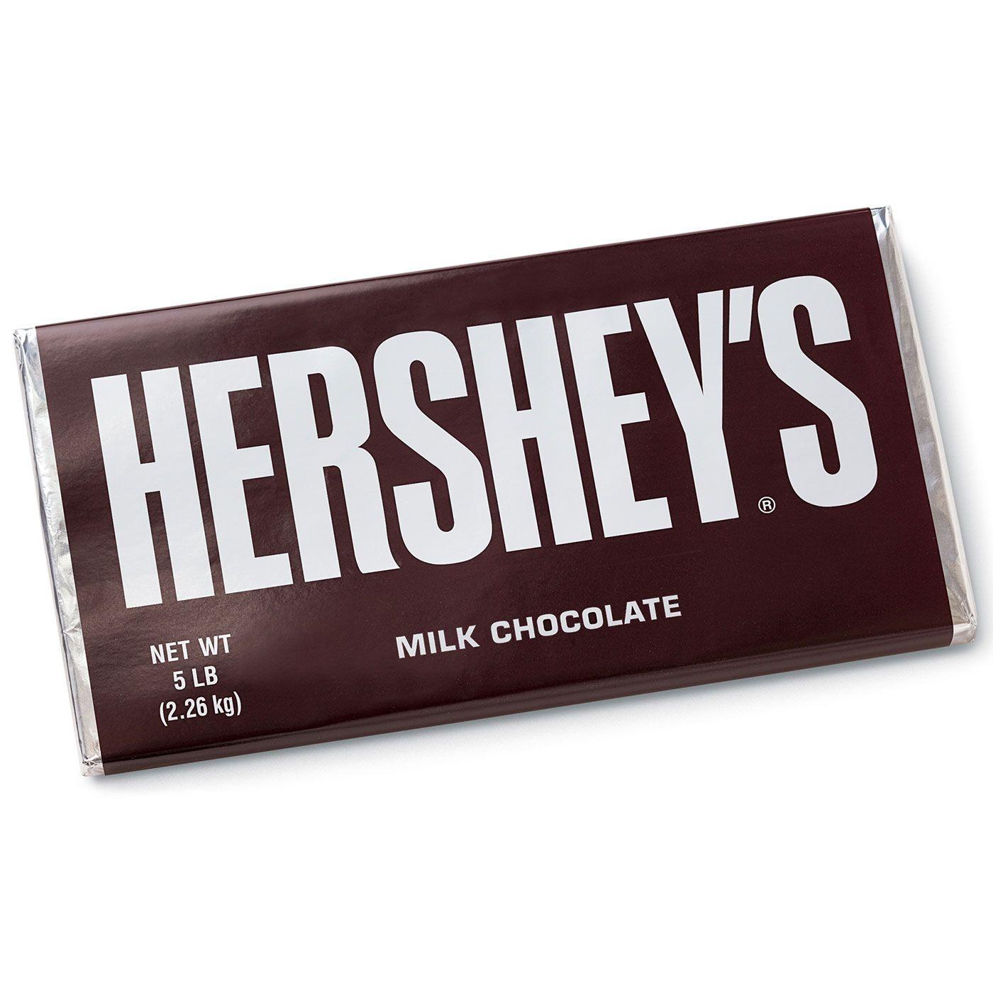 World's Largest HERSHEY'S Milk Chocolate Bar