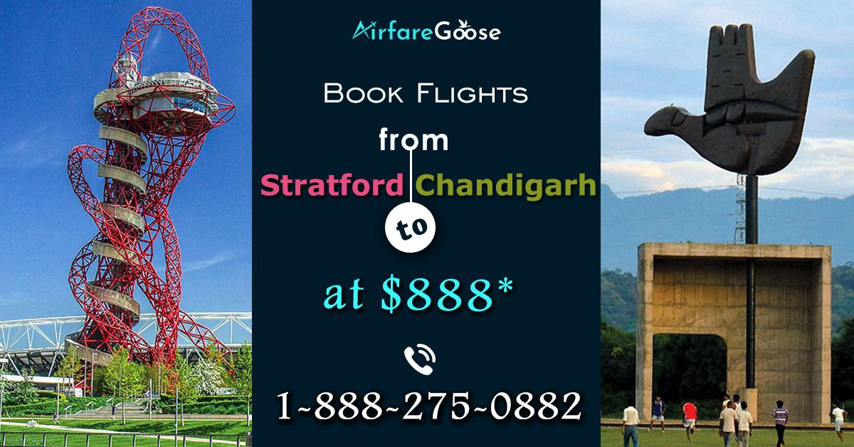Book flight from Stanfordto Chandigarhat the lowestairfareonAirfaregoose. Come to us according to your convenient time and date.  For more information call us at -1-888-275-0882 (Toll-Free), info@airfareGoose.com.  #CheapFlights #FlightDeals #LowCost #EnjoyTheJourney #Stanford #Chandigarh #Travel  #travelmore #travellifestyle