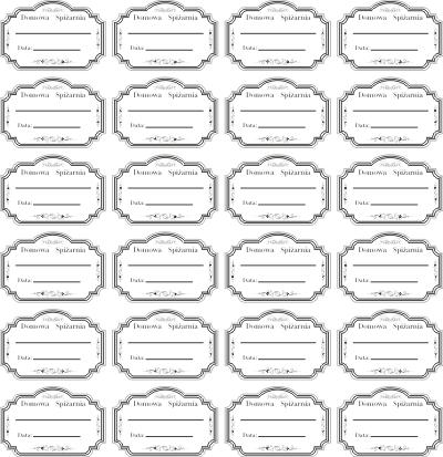 Etykiety Naklejki Przetwory Sloiki Butelki 5x7 5 3115053695 Oficjalne Archiwum Allegro Stickers Diy
