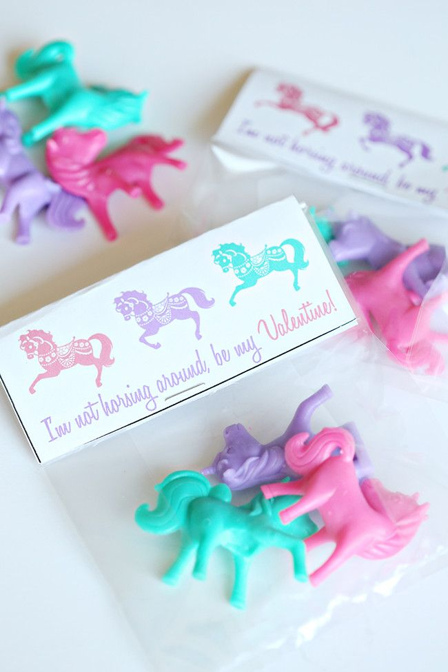 Horse Valentine's Day Printable #miniaturetoys
