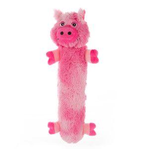 Top Paw Long Body Pig Dog Toy Squeaker Plush Toys Petsmart