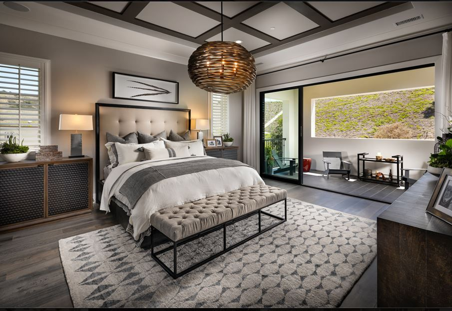 Creating a calming master bedroom with the right balance