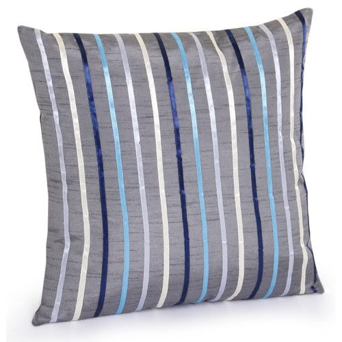 Jovi Home Anzio Hand Embroidered Throw Pillow