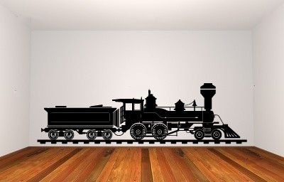 3113   Train Wall Decal Sticker Graphic Mural