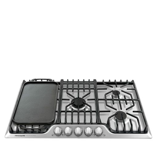 Check Out This Frigidaire Professional 36 39 39 Gas Cooktop With Griddle And Other Appliances At Frigidaire Com Gas Cooktop Frigidaire Professional Cooktop