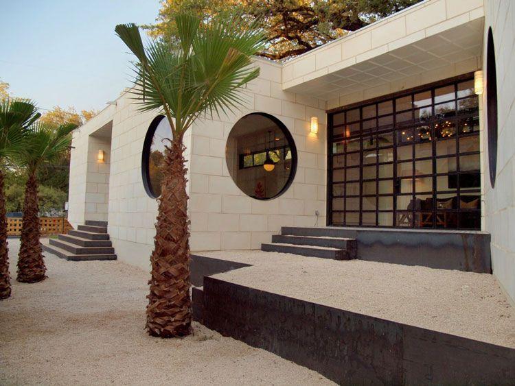 Barcelona Modern House In Austin Spaller Glover Design