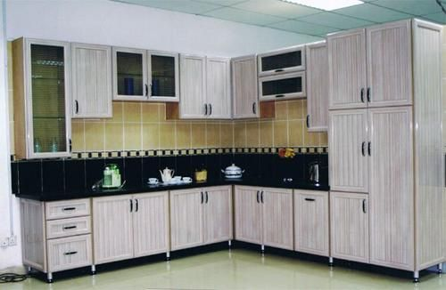 صور افكار وتصميمات مطابخ المنيوم مودرن بالصور ماجيك بوكس Kitchen Cabinet Interior Aluminum Kitchen Cabinets Aluminium Kitchen