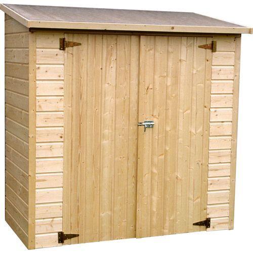 Pour acheter votre Décor Et Jardin - Armoire de jardin en bois 12 - abris de jardin adossable