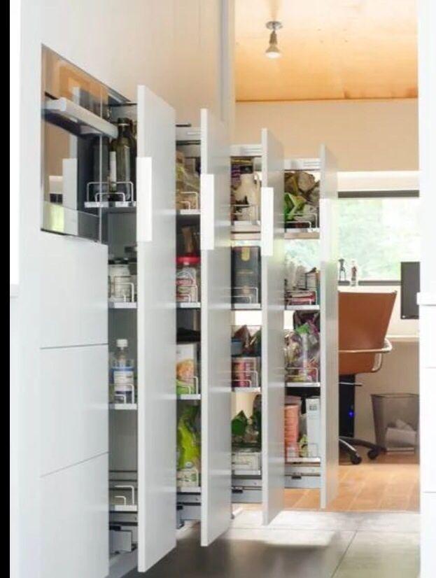 Optimizar espacio siempre es bueno!   Interni   Pinterest   Cucine ...