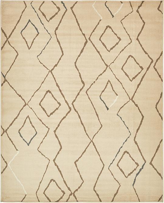 Beige Navajo Area Rug