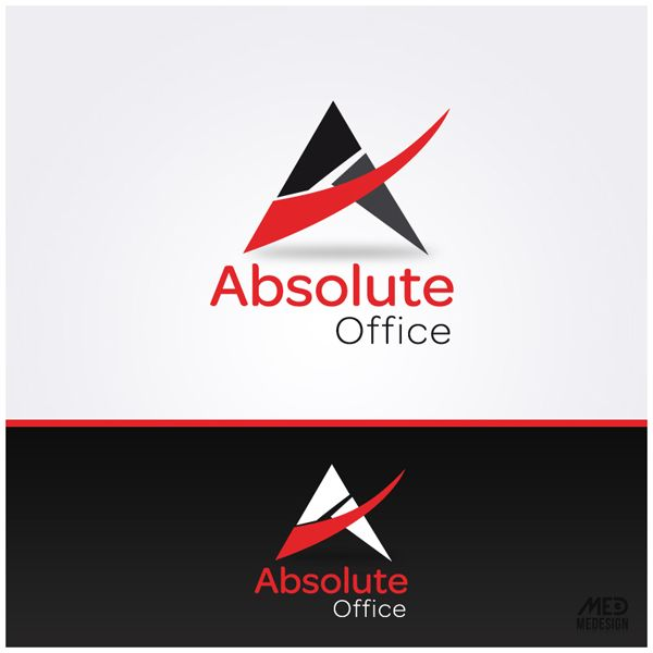 Absolute Office   Furniture Company Logo Design By Medesign.ma