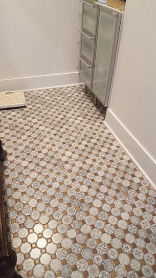 Merola Tile Take Home Sample Tessera White 12 1 4 In X Ceramic S1fosteswt The Depot Floor Samples