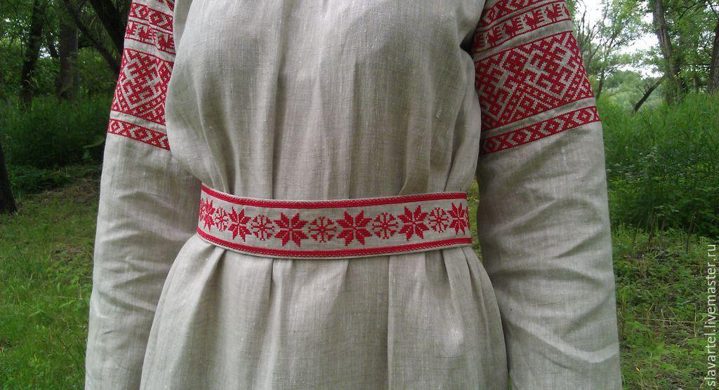 Одежда с русской вышивкой купить