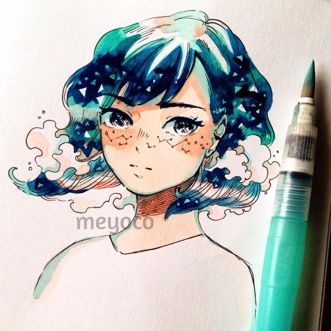 See this instagram photo by meyoco likes for How to find inspiration for drawing