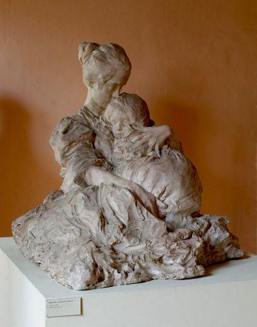 Troubetzkoy, Abbraccio materno 1898