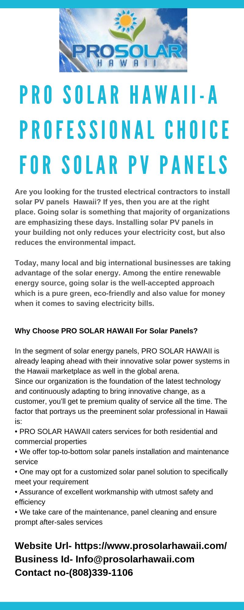 Pin On Solar Panels Big Island