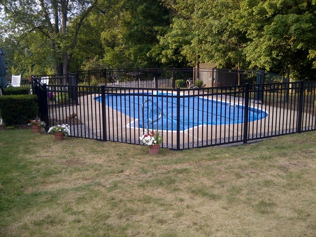 Regis Aluminum Fence Secures Ny Pool Poly Enterprises