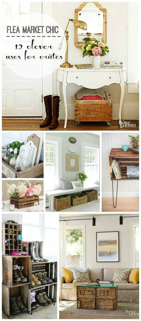 Nice Creative Things To Do With Wood Crates Amazing Design