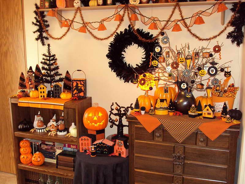 Halloween Interior Decorating best-tips-to-make-halloween-interior-decorating-with-cabinet