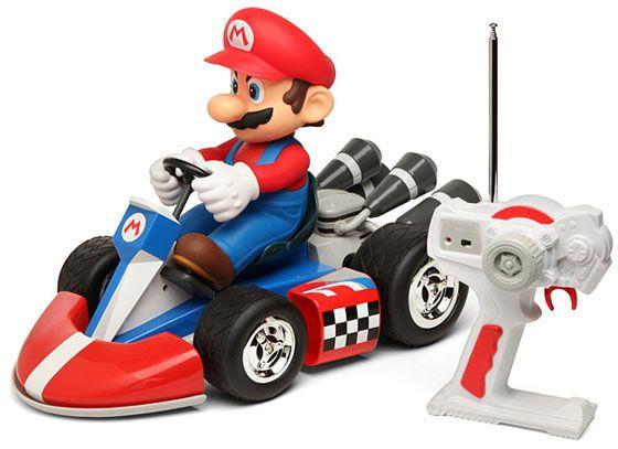 Super Deluxe Mario R C Cars Mario Kart Toy Cars For Kids Mario