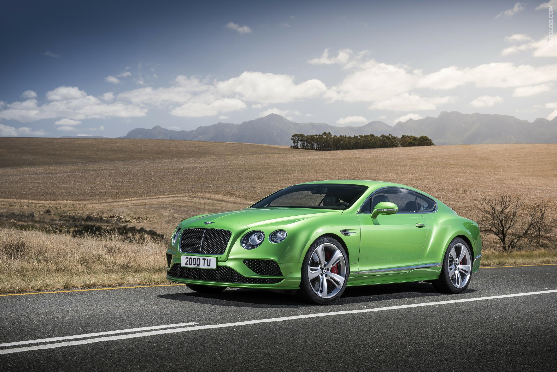 Bentley обновиРРинейку Continental GT и премиум седан Flying Spur