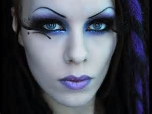 Gothic fairy makeup look tutorial by Delyria