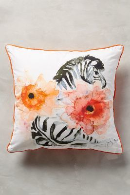 Michelle DuJardin Watercolor Zoology Pillow #anthrofave