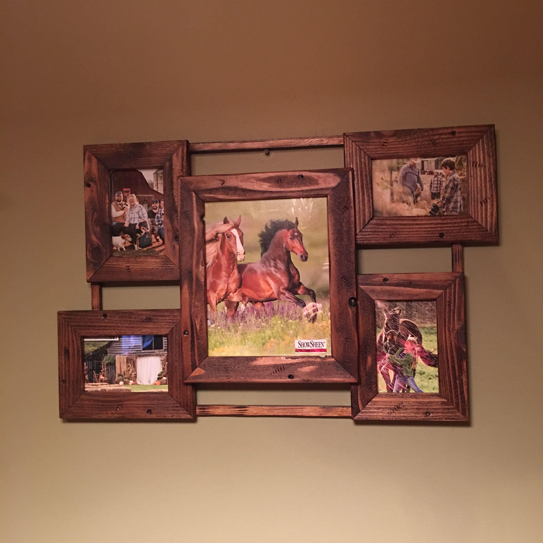 Barnwood frame collagefarmhouse decorrustic decor