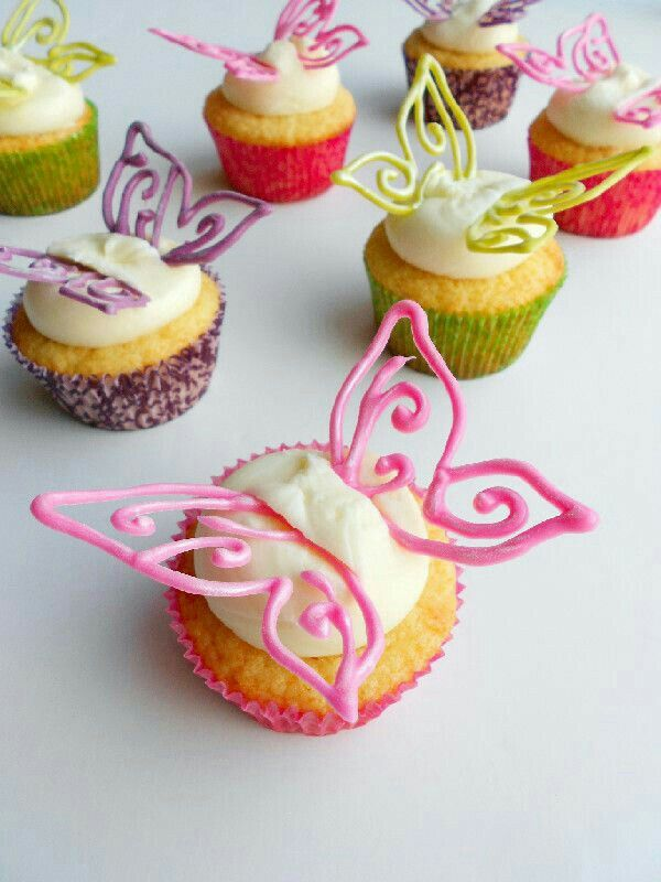 Butterfly Cupcakes.