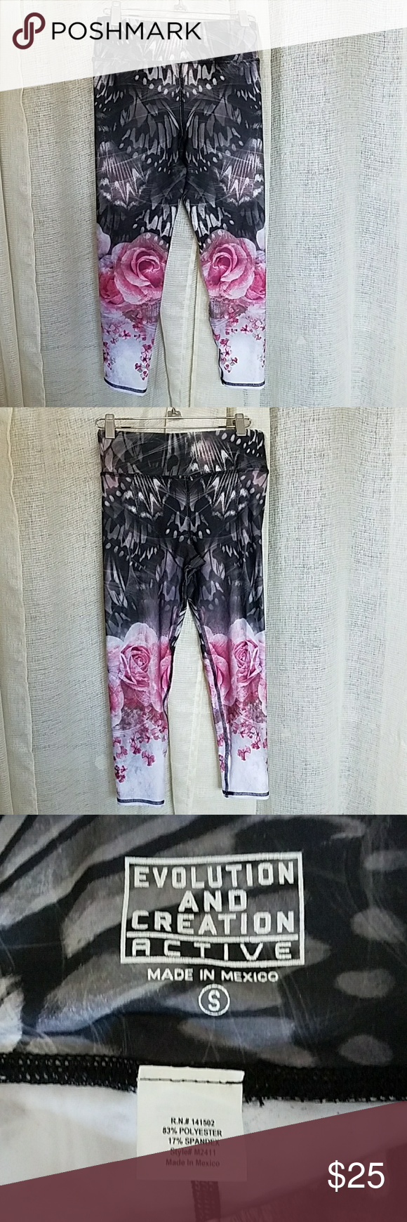 8cdf8635fd0f4 EVCR Evolution and Creation Active Capri workout l brand new never used evcr  or evolution and creation active Pants Leggings
